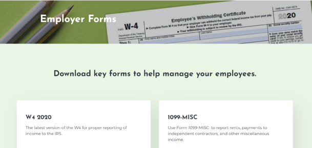 Employer Forms