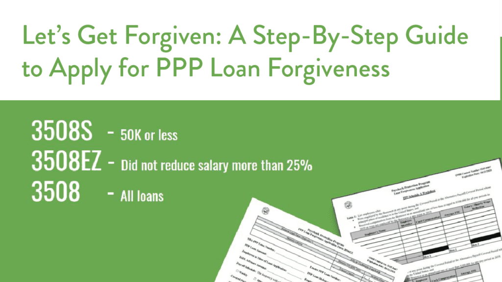 Let's Get Forgiven: A Step-By-Step Guide to Apply for PPP ...